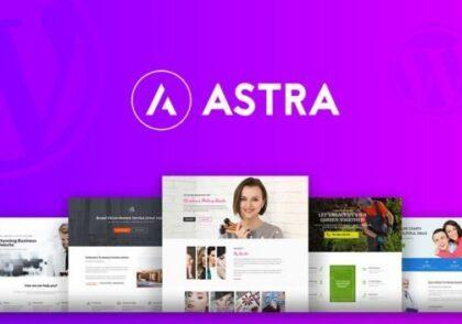دانلود قالب وردپرس Astra Pro - نسخه تجاری پوسته بی نظیر و فوق العاده Astra
